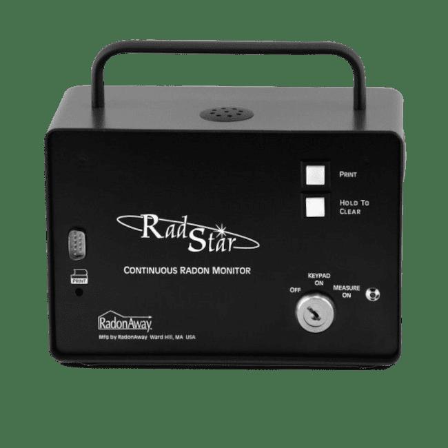 radstar rs300 continuous radon monitor